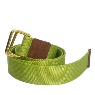 D-Ring Web Belt | Lime