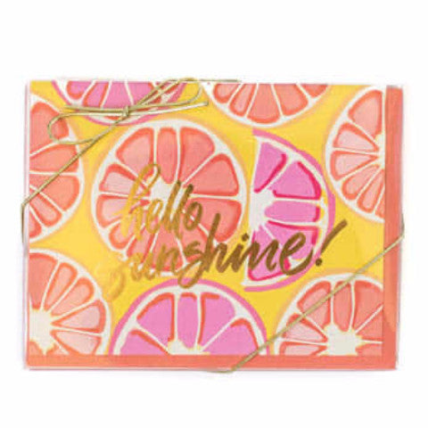 Sweet Caroline Designs Hello Sunshine Stationary Set - thegrovewp
