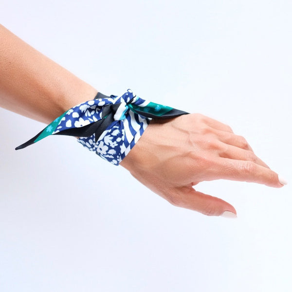 Apple Watch Scarf Band | Black Blossom