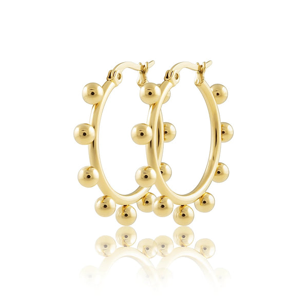 Erin Small Studded Hoops