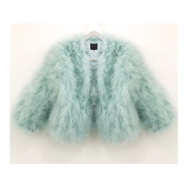 Feather Bolero | Mint