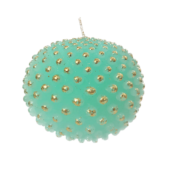 Dotted Ball Candle | Mint