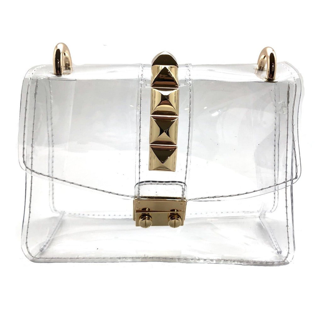 Aspen Bag | Clear & Gold