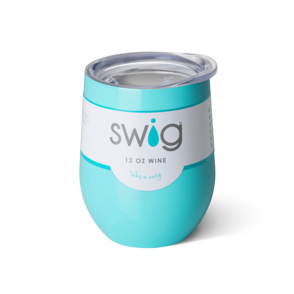 Insulated Wine Glass | Ocean-Swig-The Grove