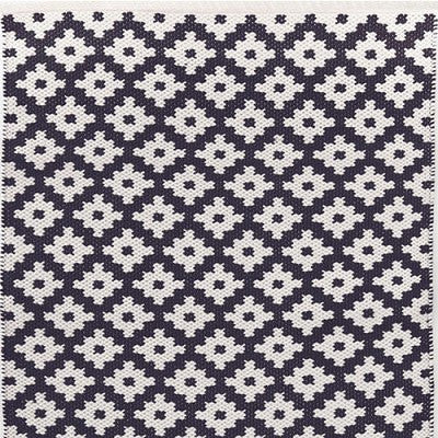 Samode Navy & Ivory Indoor/Outdoor Rug-Dash & Albert-The Grove
