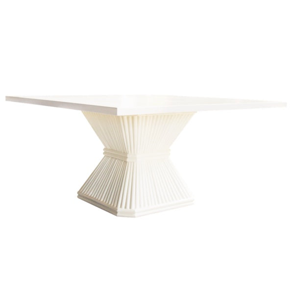 Coco Rattan Dining Room Table-Society Social-The Grove