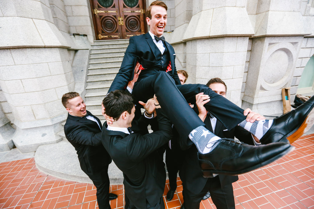 Bespoke Suits Wedding photo of Groomsmen