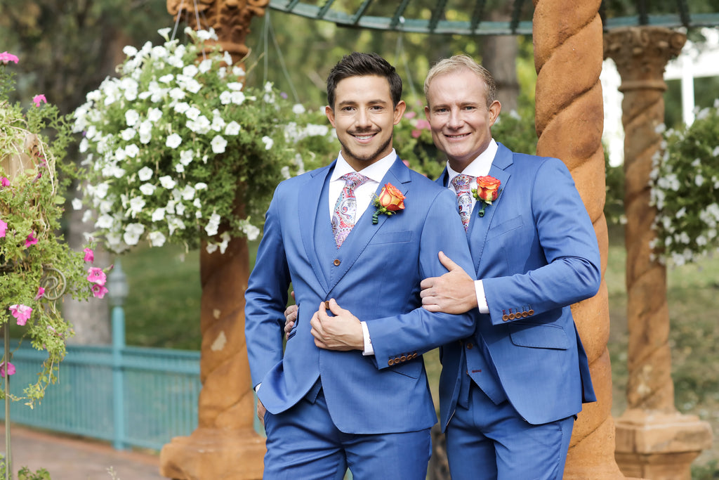 Bespoke Clothing Gay Wedding Outfits