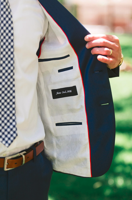 Monogrammed Suit by Bespoke Clothing