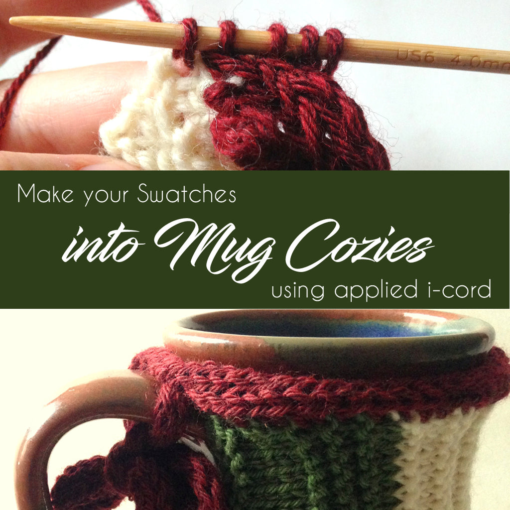 How to make a Mug Cozy out of a Swatch