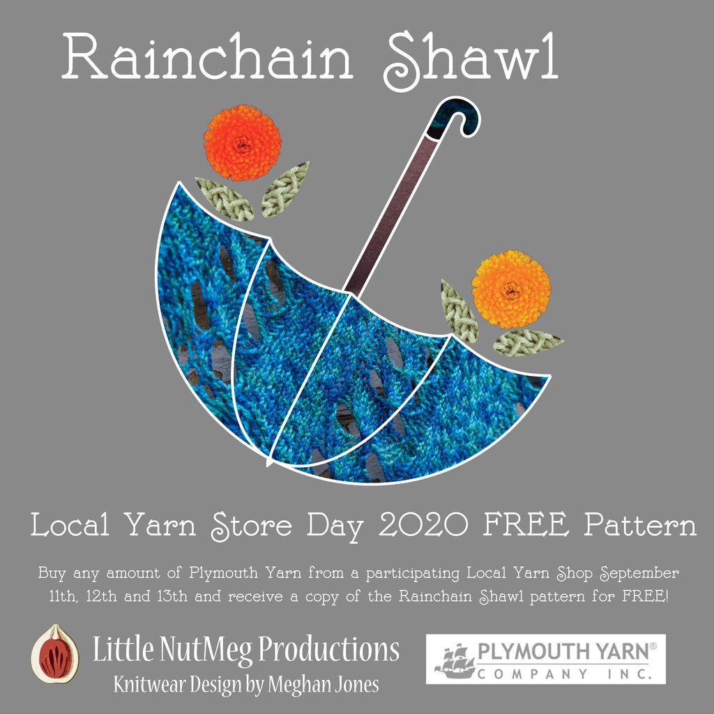 Rainchain Shawl: LYS Day 2020 Pattern Promotion!