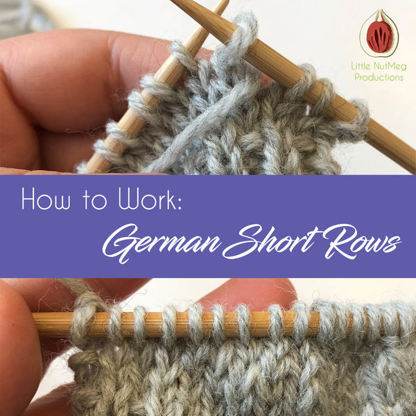 How to Work German Short Rows