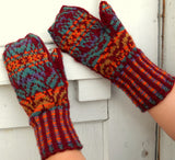 Jewelled Prism Mittens