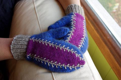 Mercury Glass Mittens