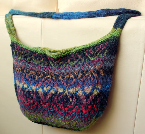 Painted Lady Boho Bag