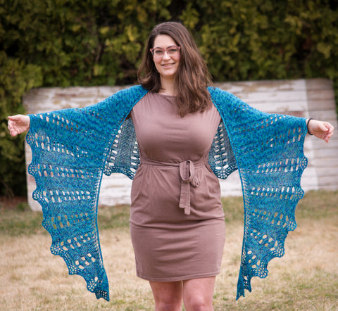 Rainchain Shawl
