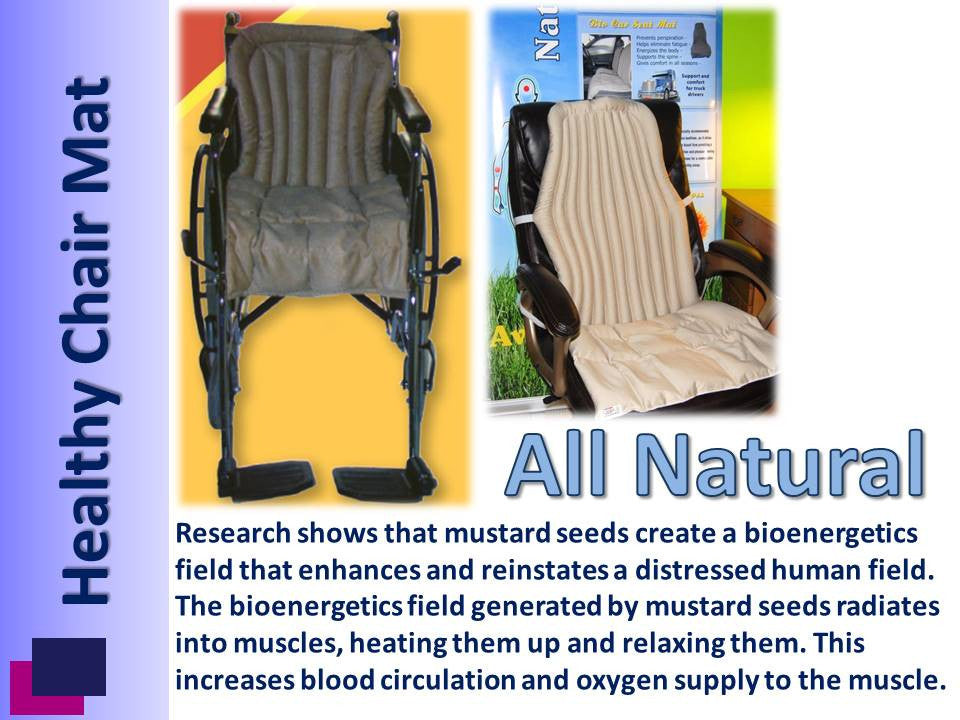 Bio Wheelchair Seat Mat