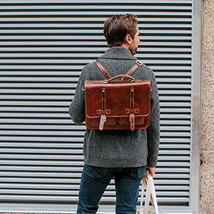 4 Common Misconceptions About Leather Backpacks