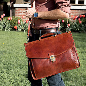 Why Leather Makes the Best Laptop Bag for Men