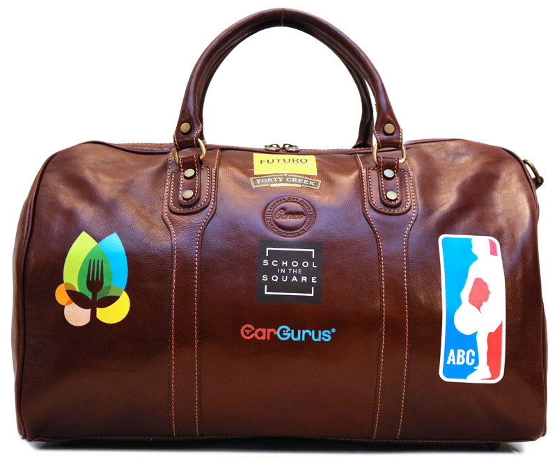 Leather Bag Custom Logo Bag