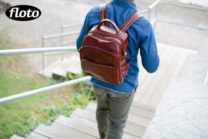 Floto Venezia Leather Backpack