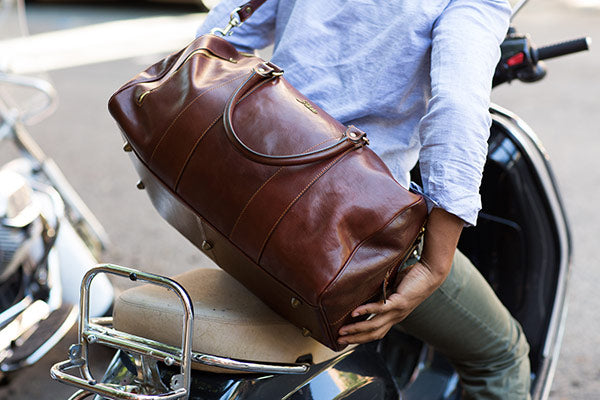 Floto Leather Duffle and Travel Bags