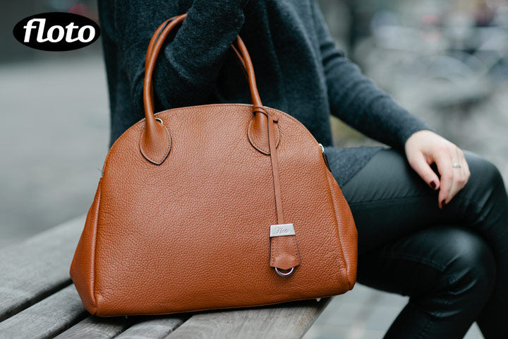 Floto Chiara Leather Bag