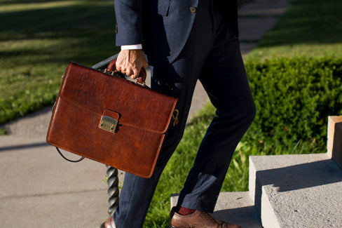 Floto Leather Briefcase