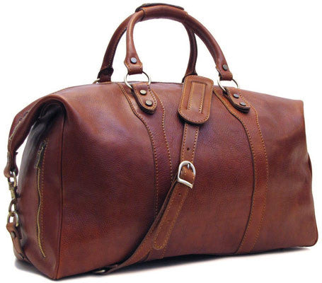 Floto Roma Leather Travel Bag