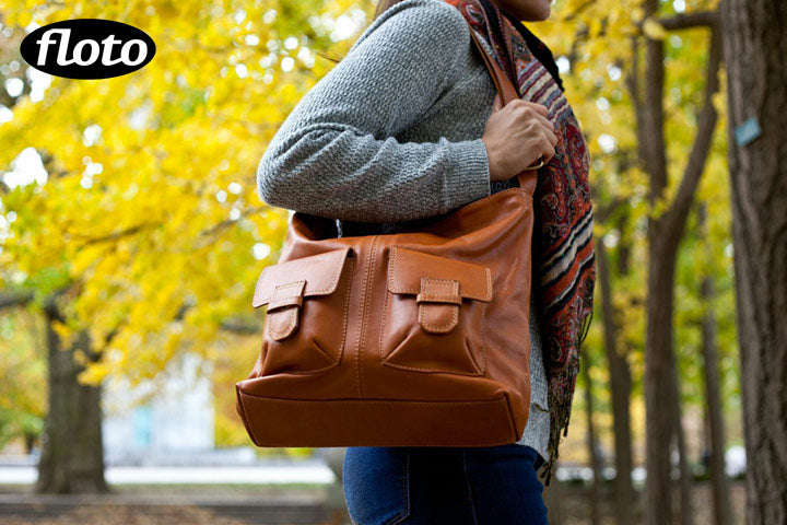 Floto Capri Leather Bag