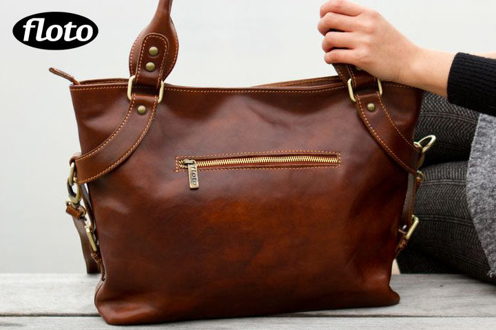 Floto Taormina Bag in Vecchio Brown
