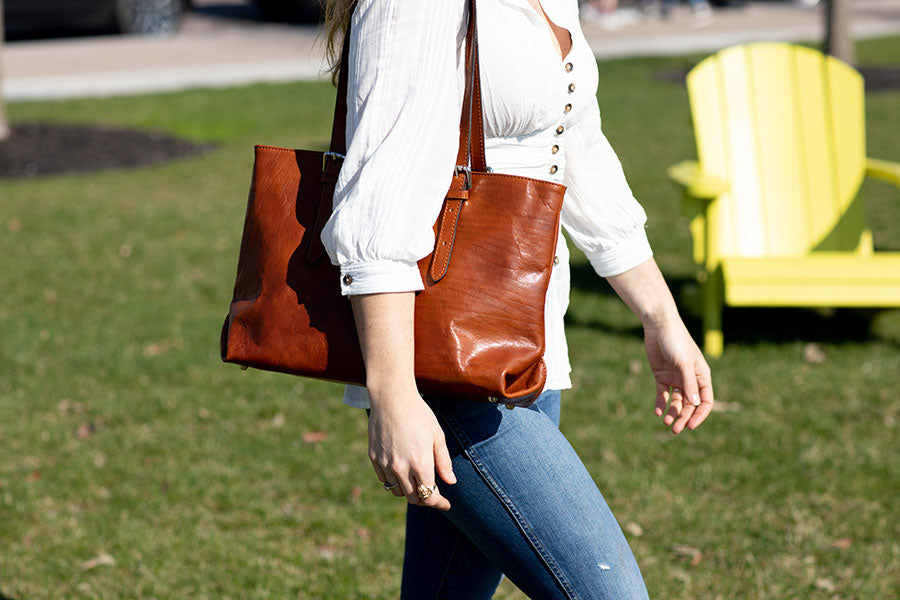 Floto Leather Tote Bags for Women