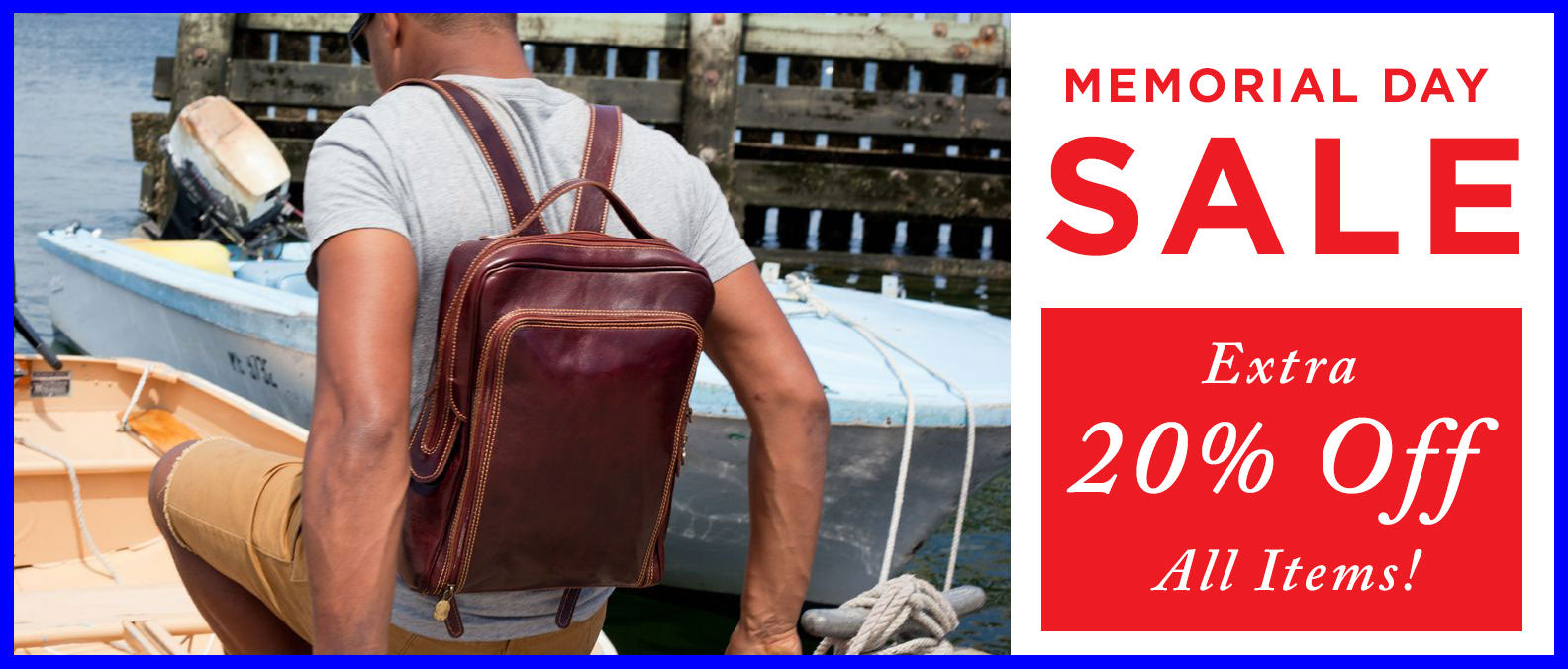 Memorial Day Leather Bag Sale