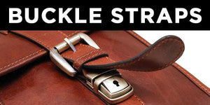 Leather Briefcase Buckle Straps