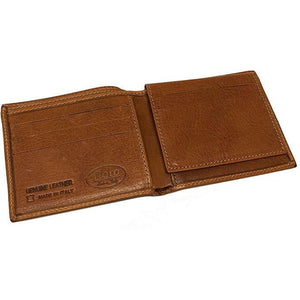 Italian Leather Wallet Floto Venezia brown 2