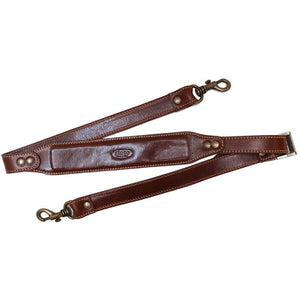 Floto Leather Comfort Strap saddle brown