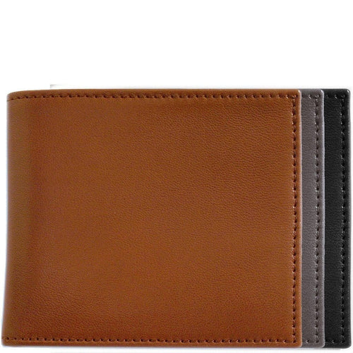 Italian Lambskin Nappa Leather Wallet Floto Billfold colors