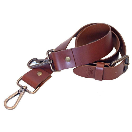leather luggage bag belt strap floto
