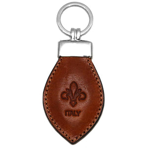 Floto Leather Italy Keychain olive