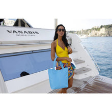 Load image into Gallery viewer, leather tote bag floto ischia