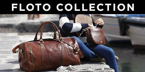 Floto Italian Leather Travel Duffle Bags