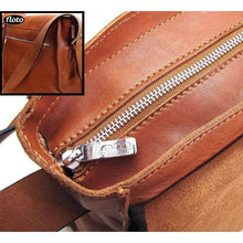 Load image into Gallery viewer, Floto Italian Forum leather messenger bag men's tote 3