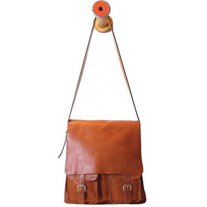 Floto Italian Forum leather messenger bag men's tote 10
