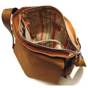 Floto Italian Forum leather messenger bag men's tote 5