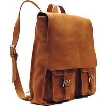 Load image into Gallery viewer, leather backpack messenger bag floto