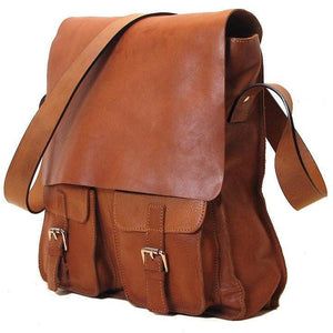 Floto Italian Forum leather messenger bag men's tote 2