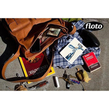 Load image into Gallery viewer, Floto Italian Forum leather messenger bag men's tote 9
