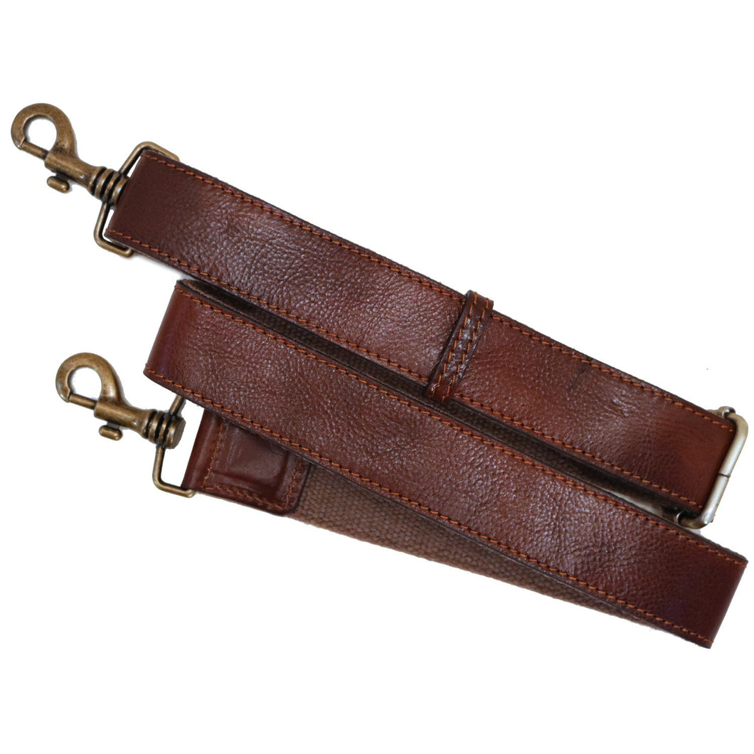 Floto Leather Guitar Strap brown