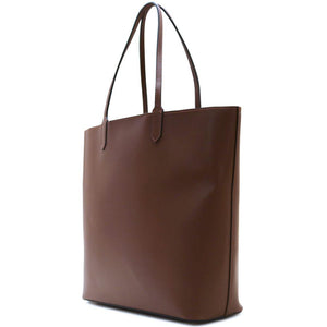 Leather Tote Bag Ischia Floto brown side