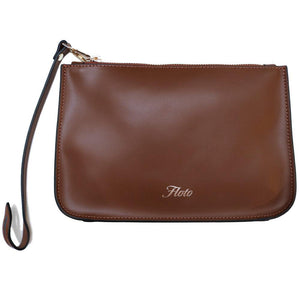 Leather Tote Bag Ischia Floto clutch